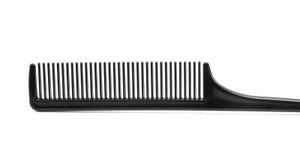 черные волосы гребня Стоковое Изображение RF