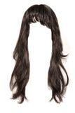 черные волосы Стоковая Фотография RF
