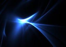 черные голубые пламена Стоковые Фотографии RF