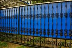 Черные голубые стробы сделанные из пластмассы и стали выковали бары Стоковые Изображения RF