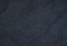 Черные естественные текстура или предпосылка камня шифера Стоковые Фото