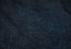 Черные естественные текстура или предпосылка камня шифера Стоковые Фотографии RF