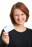 черные женщины визитной карточки стоковое фото rf