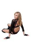 черные женщины трико танцора клуба Стоковое Фото