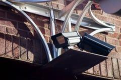 Черные камеры слежения Стоковые Фотографии RF