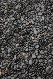 черные камни Стоковая Фотография