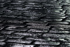 черные камни Стоковое фото RF