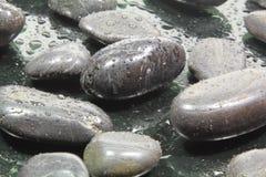 черные камни Стоковые Фотографии RF