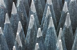 Черные карандаши Стоковые Изображения
