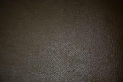 Черные кожаные текстура и предпосылка Стоковые Изображения