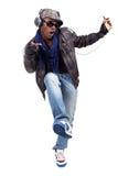 черные люди танцы молодые Стоковые Фотографии RF