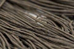 черные макаронные изделия Стоковое Фото