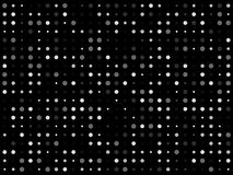 Черные многоточия Стоковое Изображение