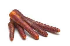 черные моркови свежие Стоковое фото RF