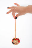 черные ногти lollipop Стоковое Изображение