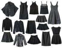 черные одежды Стоковое Изображение
