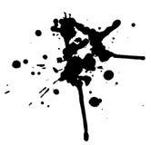 черные падения Стоковые Фото