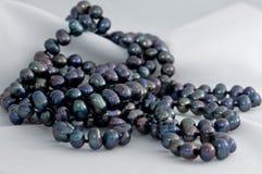 черные перлы Стоковое фото RF