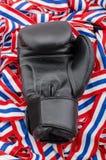 черные перчатки бокса Стоковые Фото