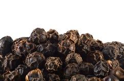 черные перчинки Стоковое Изображение