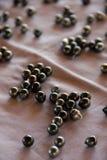 черные перлы стоковое фото