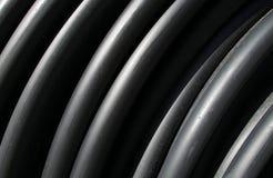 черные пластичные пробки Стоковые Изображения RF