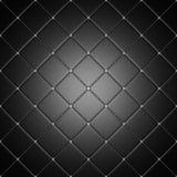 Черные плитки с светящим венчиком Стоковое фото RF