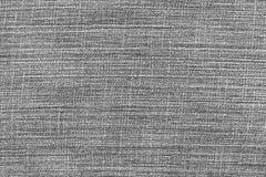 Черные предпосылка и текстура демикотона Стоковое Изображение RF