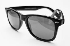 черные ретро sunglases Стоковые Изображения