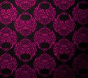 черные розовые обои Стоковое Изображение