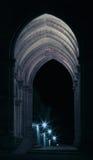 черные светильники штольни играют главные роли белизна Стоковое Фото