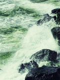 черные скалы видят Стоковая Фотография RF