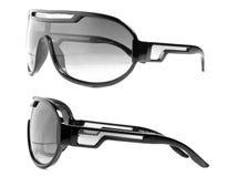 Черные солнечные очки Стоковое Изображение RF