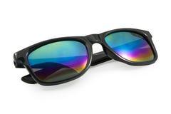 черные солнечные очки Стоковые Изображения