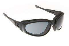 черные холодные солнечные очки спорта способа Стоковое Изображение RF