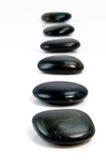 черные шагая камни Стоковое Изображение RF