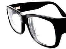 черные eyeglasses ретро Стоковое фото RF