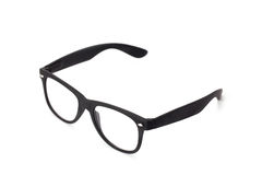Черные eyeglasses Стоковые Фотографии RF