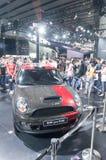 черный автомобиль миниый Стоковая Фотография
