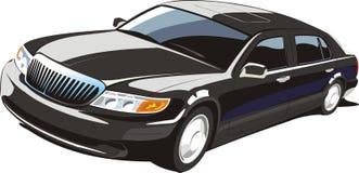 черный автомобиль роскошный Стоковые Фото