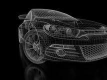 черный автомобиль Стоковое Изображение RF