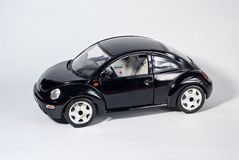 черный автомобиль Стоковая Фотография