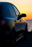 черный автомобиль Стоковая Фотография RF