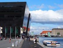 Черный алмаз Копенгаген Стоковое фото RF