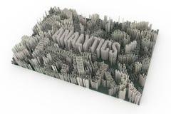 Черный & белый перевод B&W 3D Компенсации формы предпосылки абстрактные иллюстрация штока