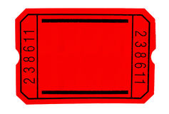 черный билет Стоковое фото RF