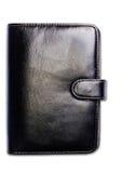Черный блокнот стоковое фото
