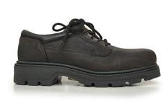 черный ботинок изолировал Стоковое Изображение RF
