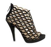 черный ботинок Стоковые Фотографии RF