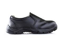 черный ботинок Стоковая Фотография